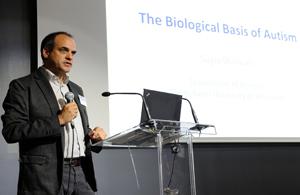 Prof. Sagiv Shifman lecturing