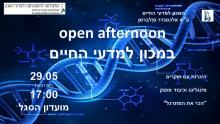 Open afternoon 29.5.19